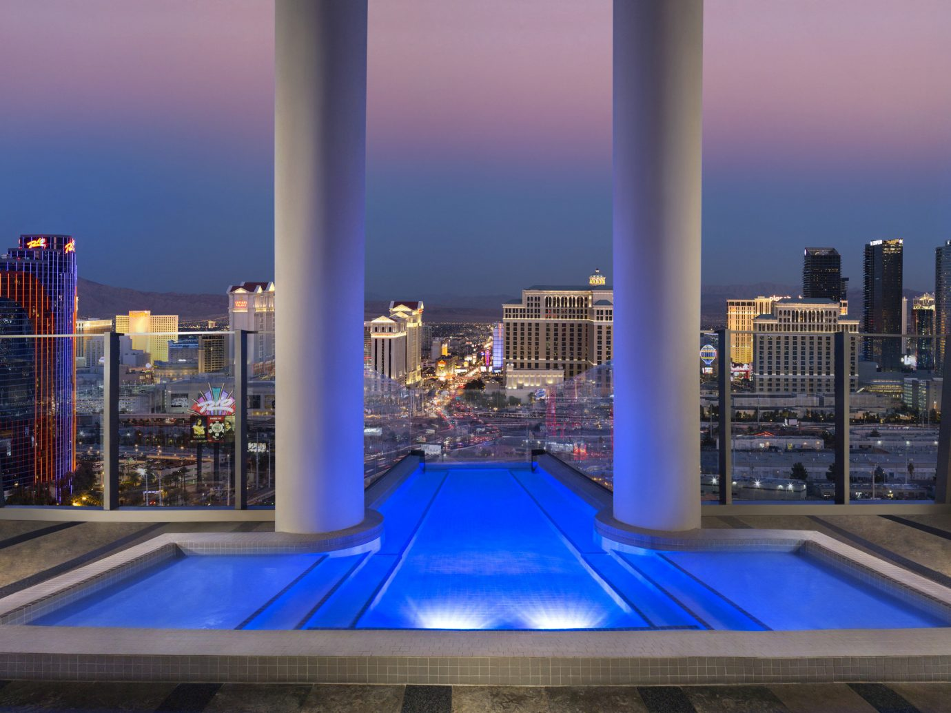 sky villa on palms casino resort - matini hotels
